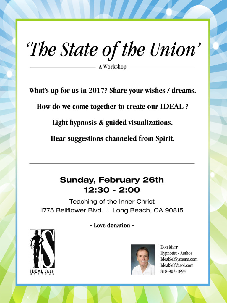 State of the Union Flyer